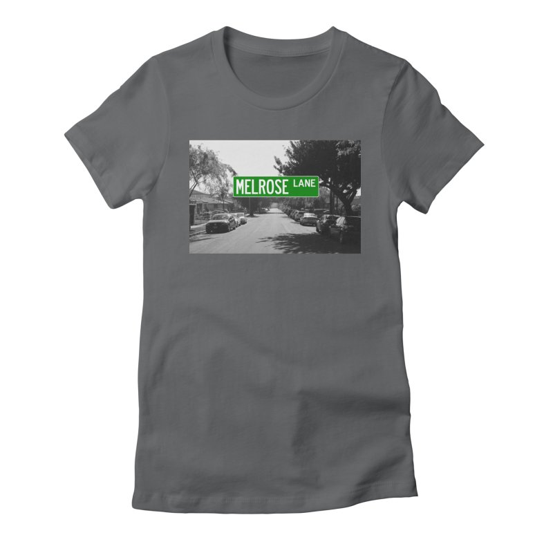 Melrose Lane Women's Fitted T-Shirt by AuthorMKDwyer's Artist Shop