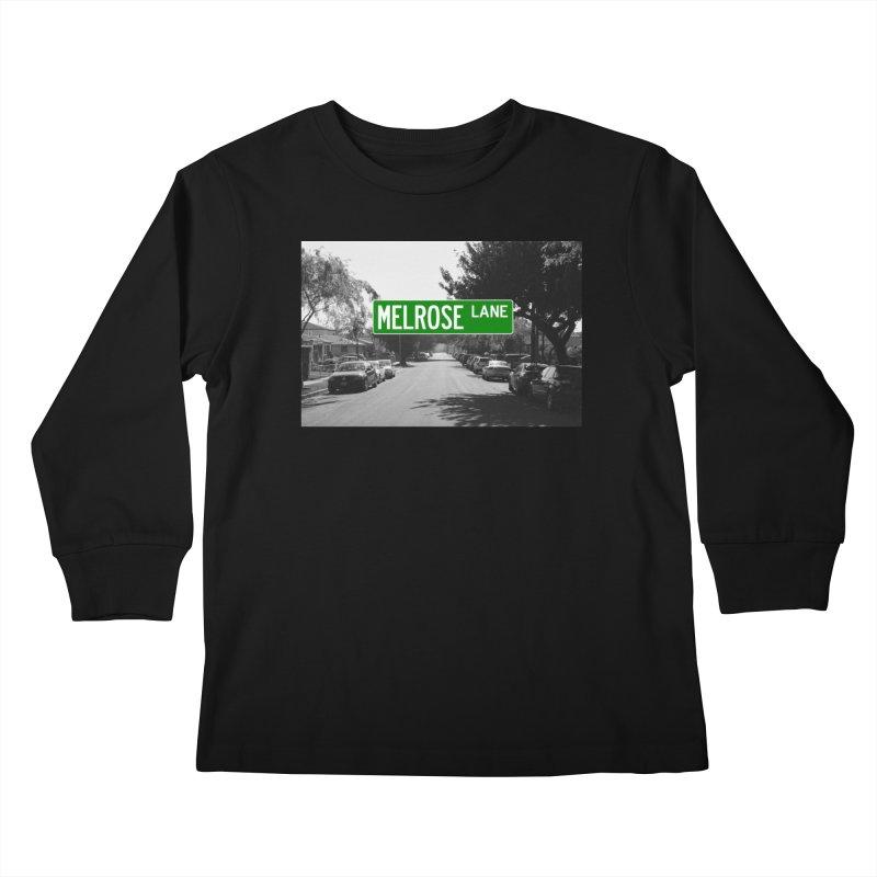 Melrose Lane Kids Longsleeve T-Shirt by AuthorMKDwyer's Artist Shop