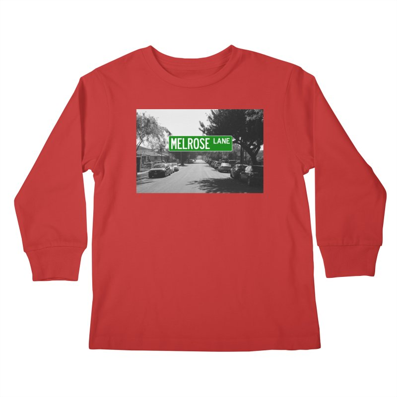 Melrose Lane Kids Longsleeve T-Shirt by AuthorMKDwyer's Artist Shop