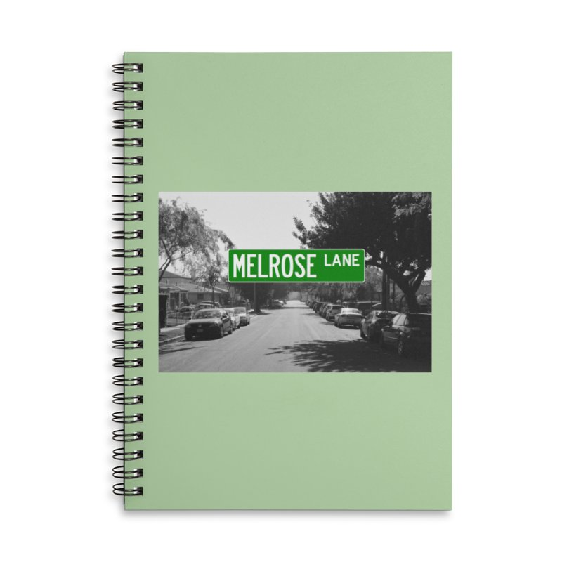 Melrose Lane Accessories Notebook by AuthorMKDwyer's Artist Shop