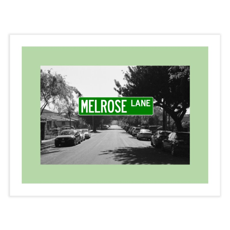 Melrose Lane Home Fine Art Print by AuthorMKDwyer's Artist Shop