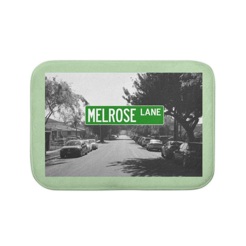 Melrose Lane Home Bath Mat by AuthorMKDwyer's Artist Shop