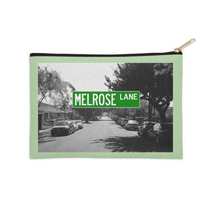 Melrose Lane Accessories Zip Pouch by AuthorMKDwyer's Artist Shop