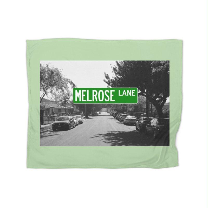 Melrose Lane Home Fleece Blanket Blanket by AuthorMKDwyer's Artist Shop