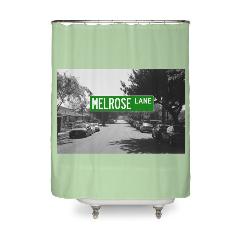 Melrose Lane Home Shower Curtain by AuthorMKDwyer's Artist Shop