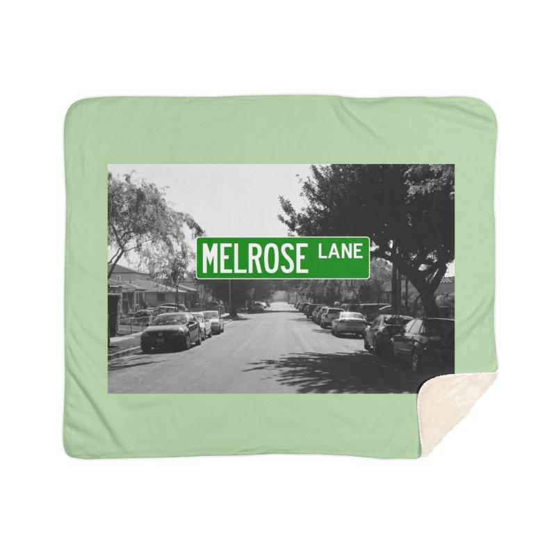 Melrose Lane Home Sherpa Blanket Blanket by AuthorMKDwyer's Artist Shop