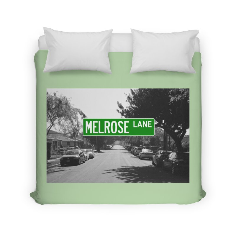 Melrose Lane Home Duvet by AuthorMKDwyer's Artist Shop