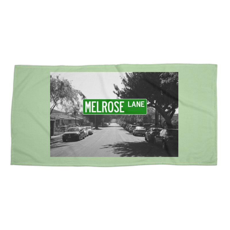 Melrose Lane Accessories Beach Towel by AuthorMKDwyer's Artist Shop