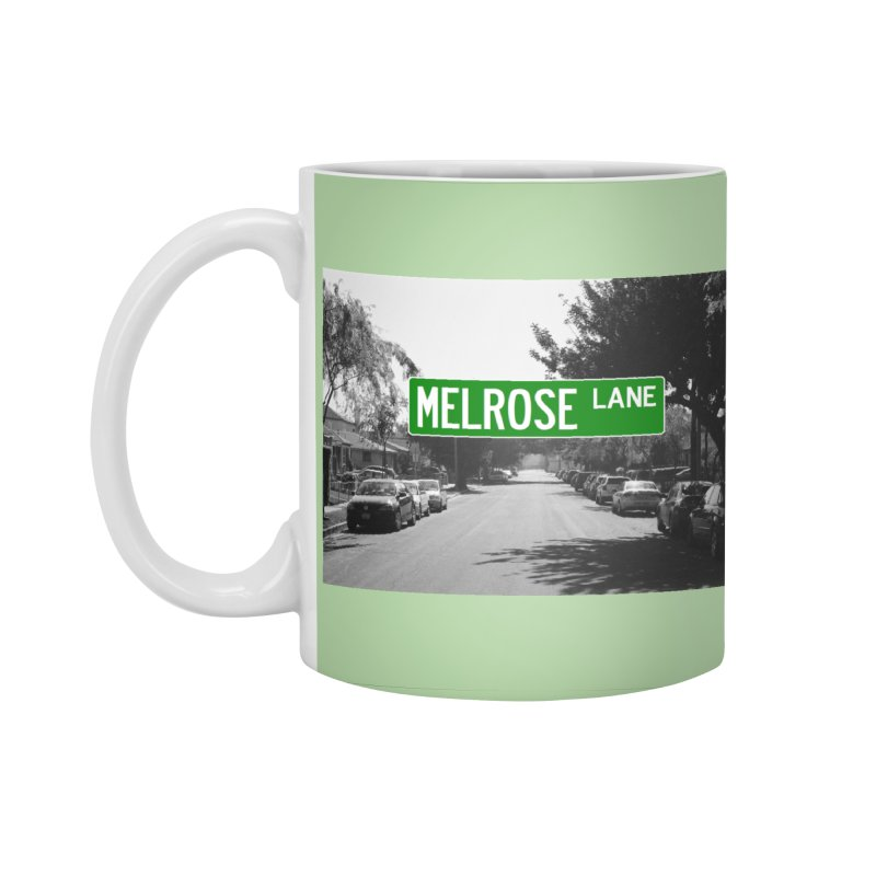 Melrose Lane Accessories Standard Mug by AuthorMKDwyer's Artist Shop