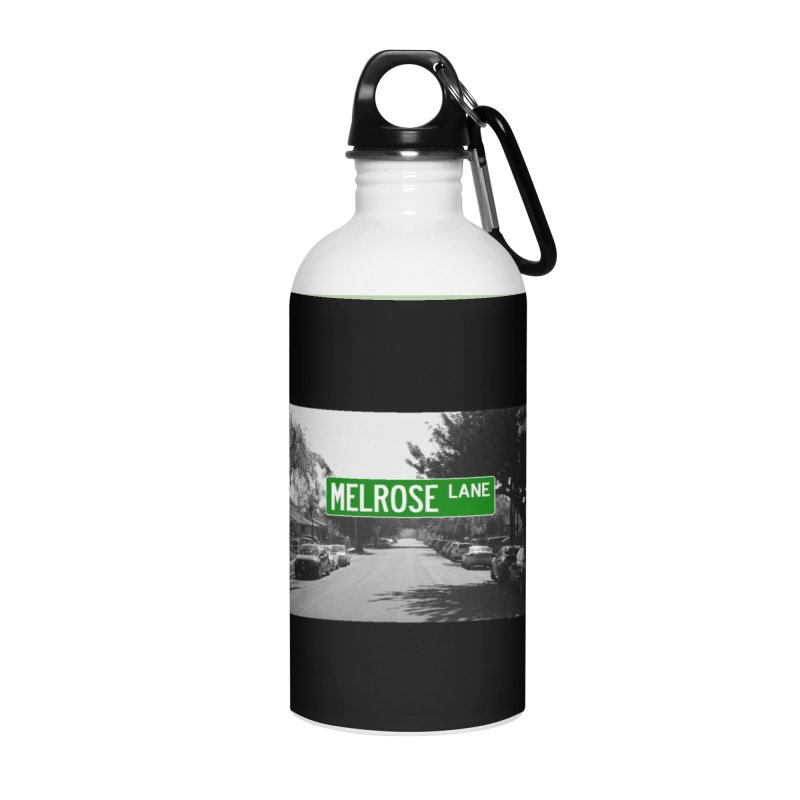 Melrose Lane Accessories Water Bottle by AuthorMKDwyer's Artist Shop