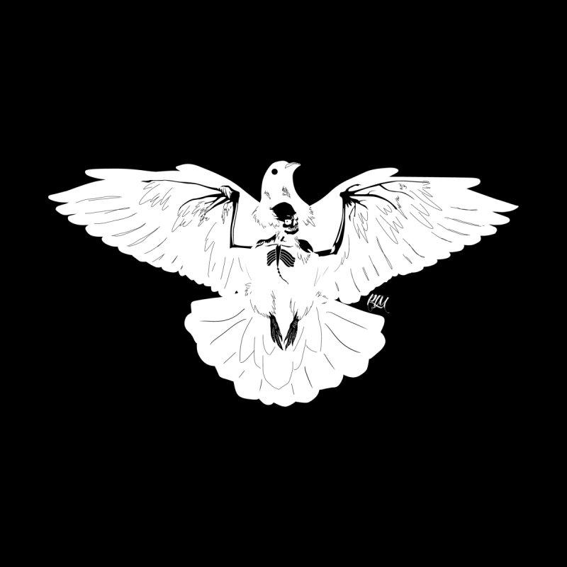 Hell Bird - White Men's T-Shirt by P.L. McMillan's Artist Shop