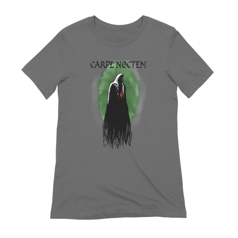 Carpe Noctem Women's T-Shirt by P.L. McMillan's Artist Shop
