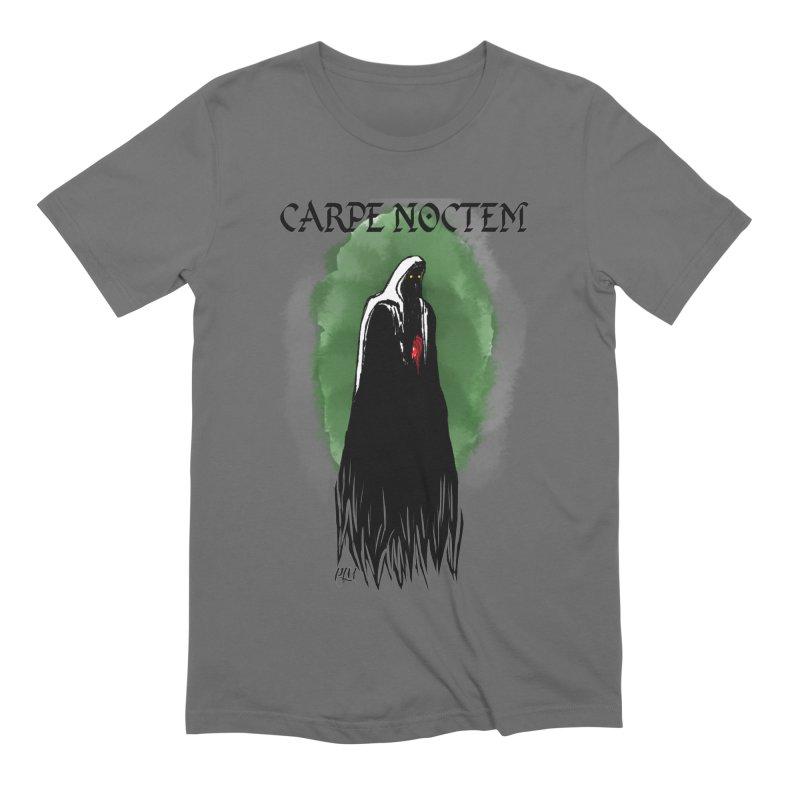 Carpe Noctem Men's T-Shirt by P.L. McMillan's Artist Shop