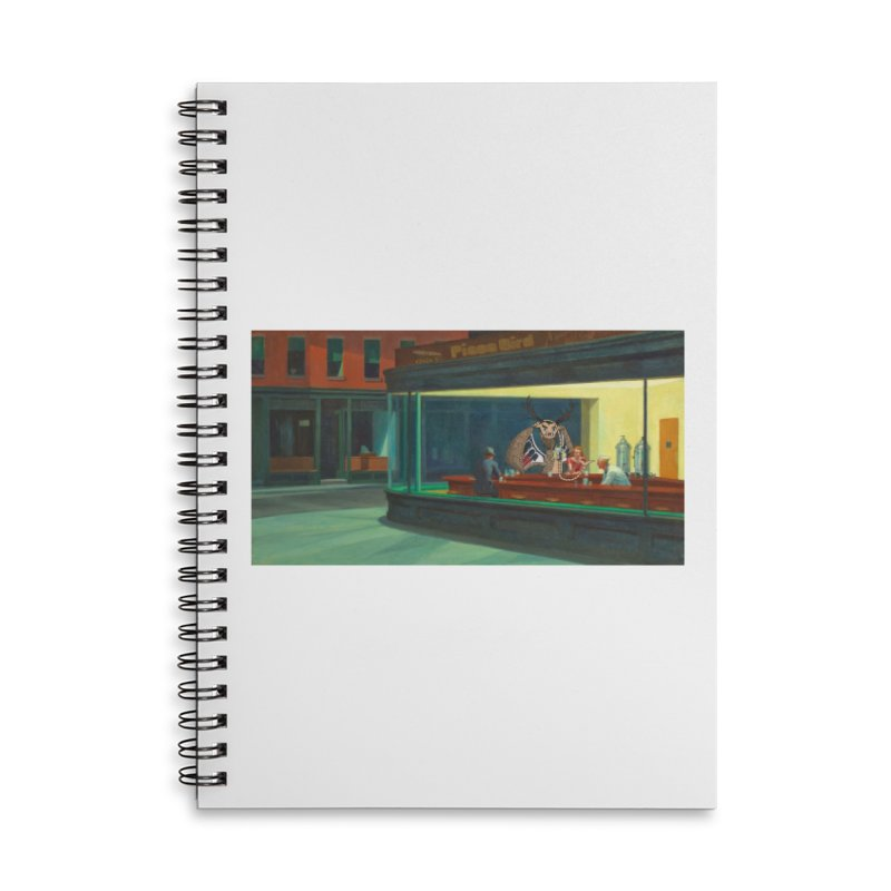 Night Piasa Accessories Notebook by P.L. McMillan's Artist Shop
