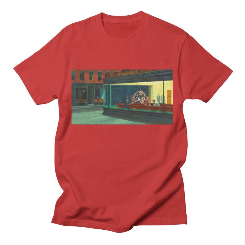 Night Piasa Men's T-Shirt by P.L. McMillan's Artist Shop