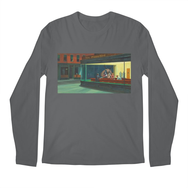 Night Piasa Men's Longsleeve T-Shirt by P.L. McMillan's Artist Shop