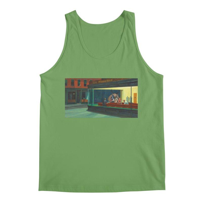 Night Piasa Men's Tank by P.L. McMillan's Artist Shop