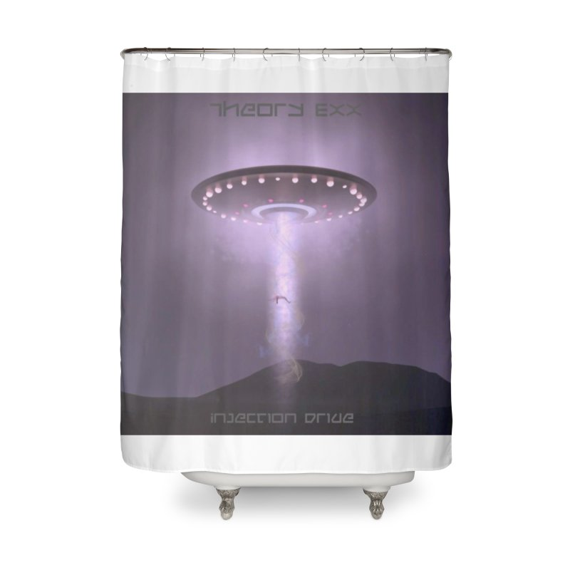 Theory Exx: Injection Drive Home Shower Curtain by automatonofficial's Artist Shop
