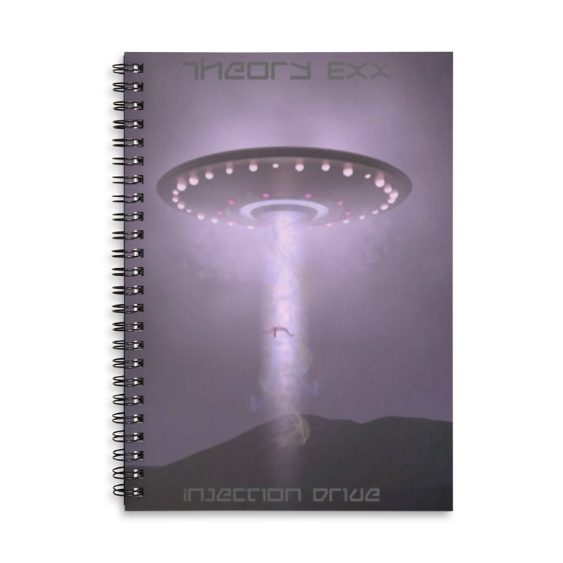 Theory Exx: Injection Drive Accessories Lined Spiral Notebook by automatonofficial's Artist Shop