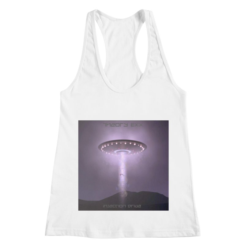 Theory Exx: Injection Drive Women's Racerback Tank by automatonofficial's Artist Shop
