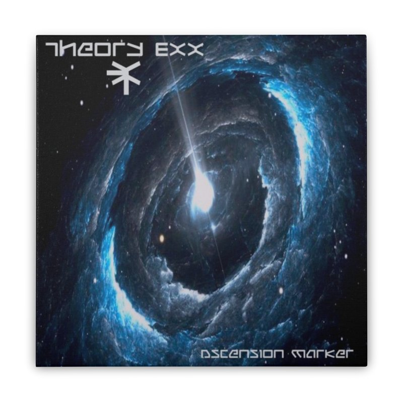 Theory Exx: Ascension Marker Home Stretched Canvas by automatonofficial's Artist Shop