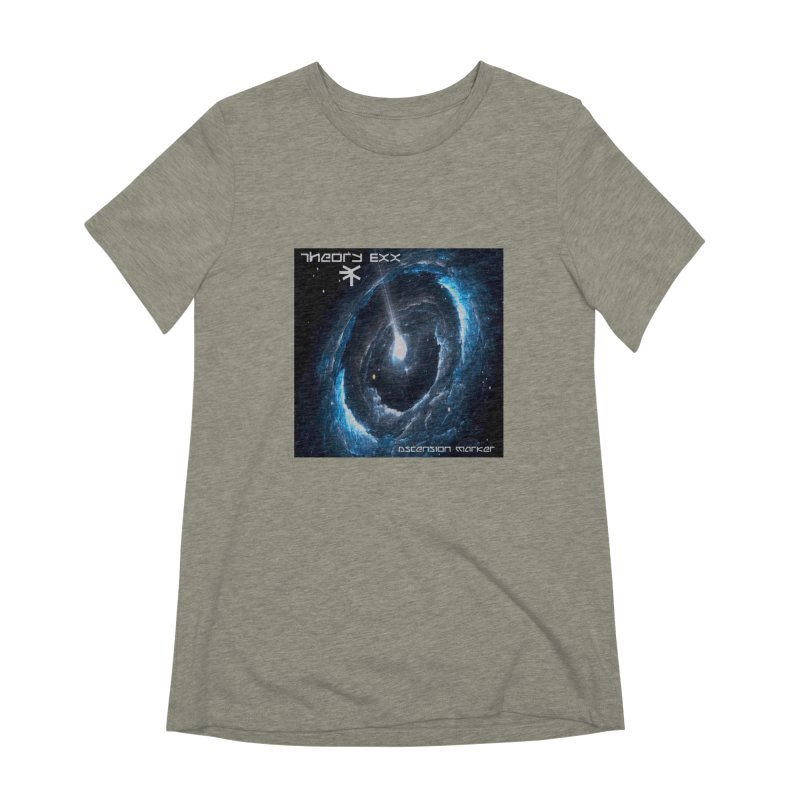 Theory Exx: Ascension Marker Women's Extra Soft T-Shirt by automatonofficial's Artist Shop