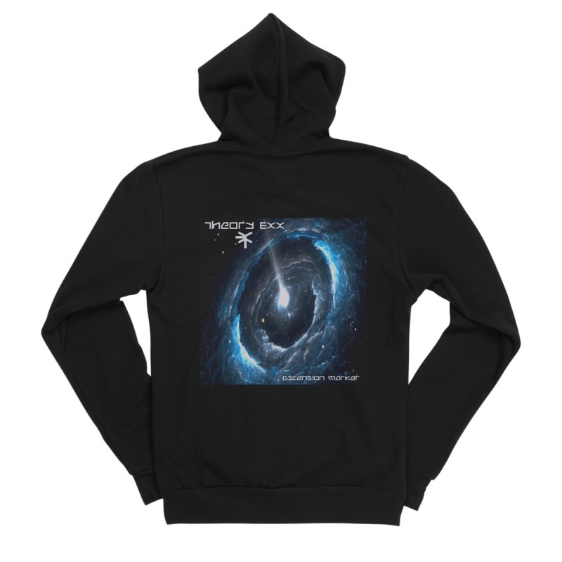 Theory Exx: Ascension Marker Men's Sponge Fleece Zip-Up Hoody by automatonofficial's Artist Shop