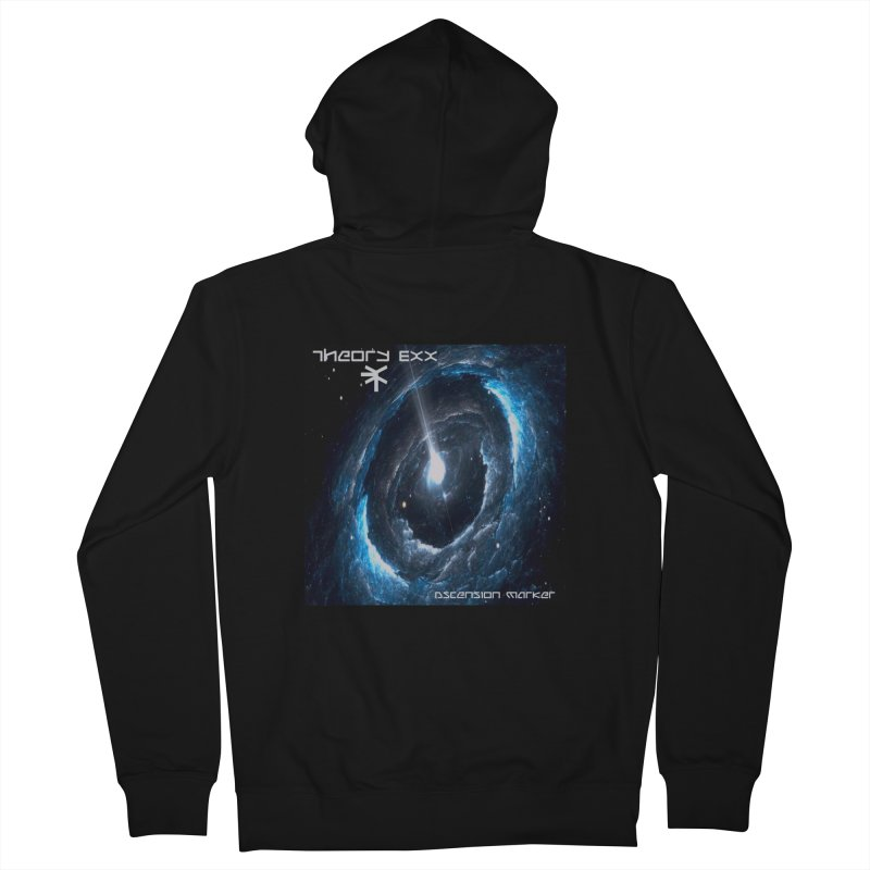 Theory Exx: Ascension Marker Men's French Terry Zip-Up Hoody by automatonofficial's Artist Shop