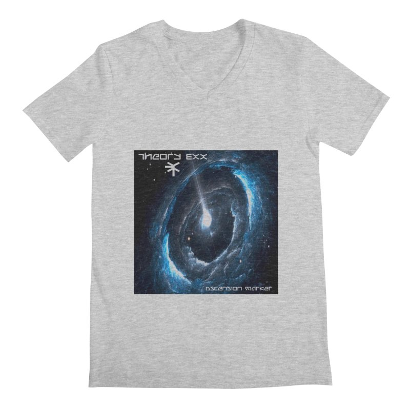 Theory Exx: Ascension Marker Men's Regular V-Neck by automatonofficial's Artist Shop