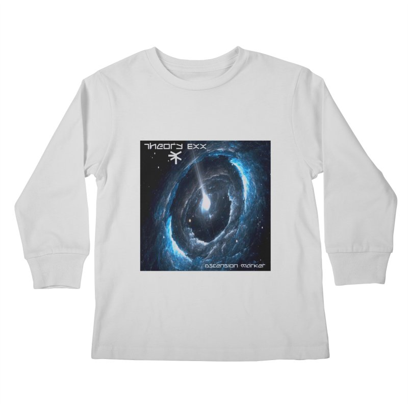 Theory Exx: Ascension Marker Kids Longsleeve T-Shirt by automatonofficial's Artist Shop