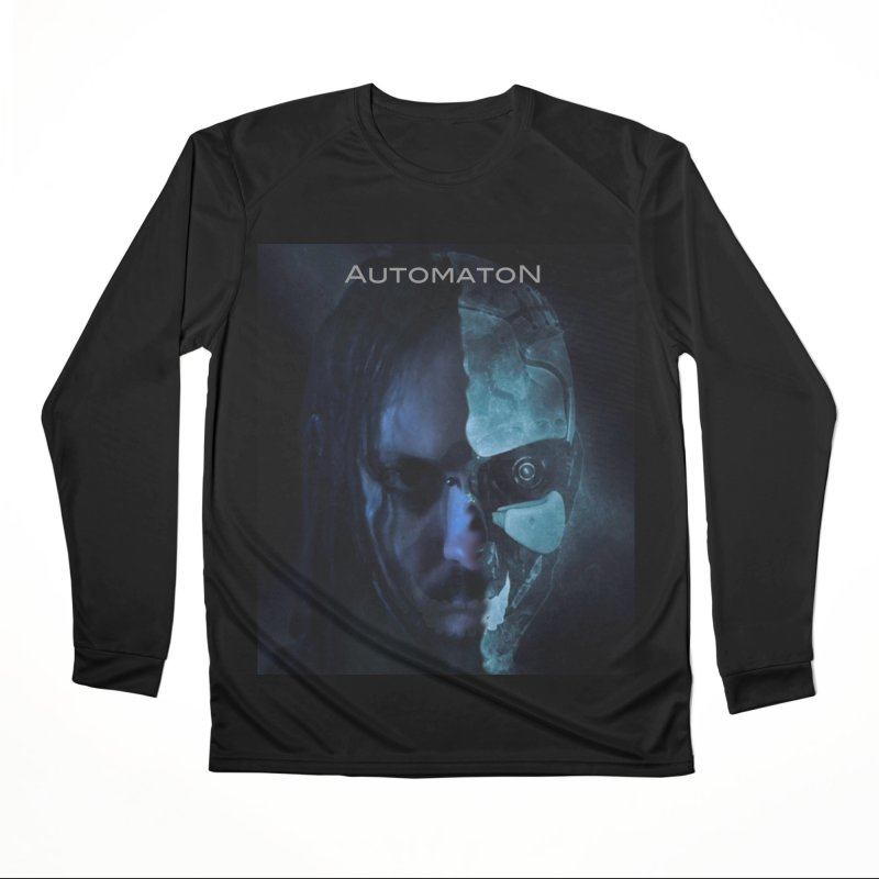 AutomatoN E.V.Olution human machine Men's Performance Longsleeve T-Shirt by automatonofficial's Artist Shop