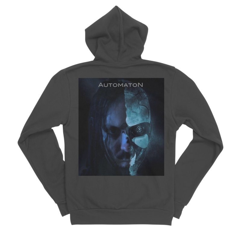 AutomatoN E.V.Olution human machine Men's Sponge Fleece Zip-Up Hoody by automatonofficial's Artist Shop