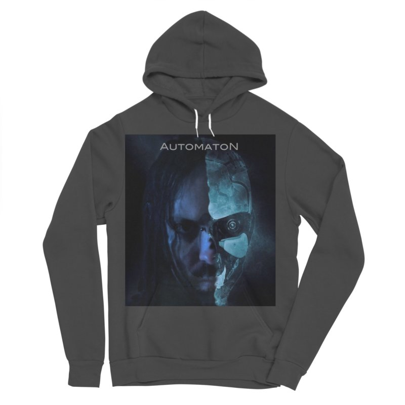 AutomatoN E.V.Olution human machine Women's Sponge Fleece Pullover Hoody by automatonofficial's Artist Shop