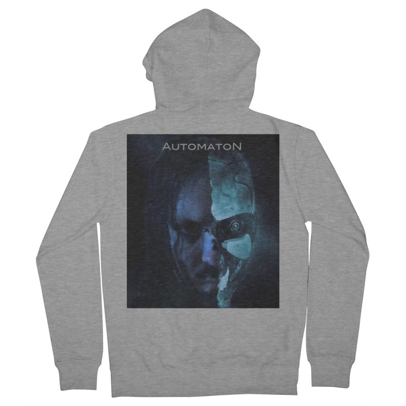 AutomatoN E.V.Olution human machine Women's French Terry Zip-Up Hoody by automatonofficial's Artist Shop