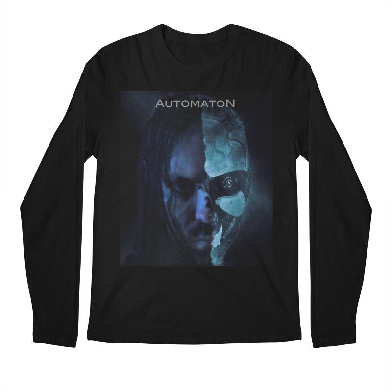 AutomatoN E.V.Olution human machine Men's Regular Longsleeve T-Shirt by automatonofficial's Artist Shop