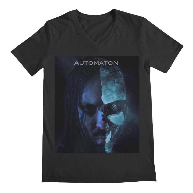 AutomatoN E.V.Olution human machine Men's Regular V-Neck by automatonofficial's Artist Shop