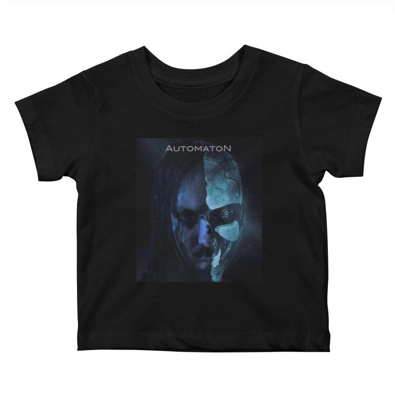 AutomatoN E.V.Olution human machine Kids Baby T-Shirt by automatonofficial's Artist Shop