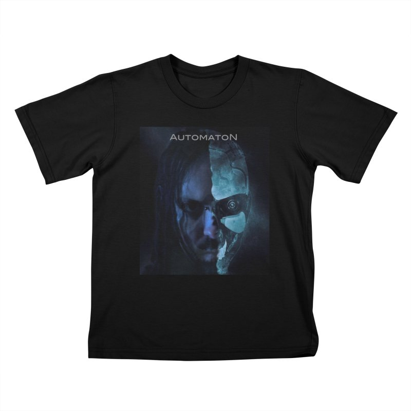 AutomatoN E.V.Olution human machine Kids T-Shirt by automatonofficial's Artist Shop