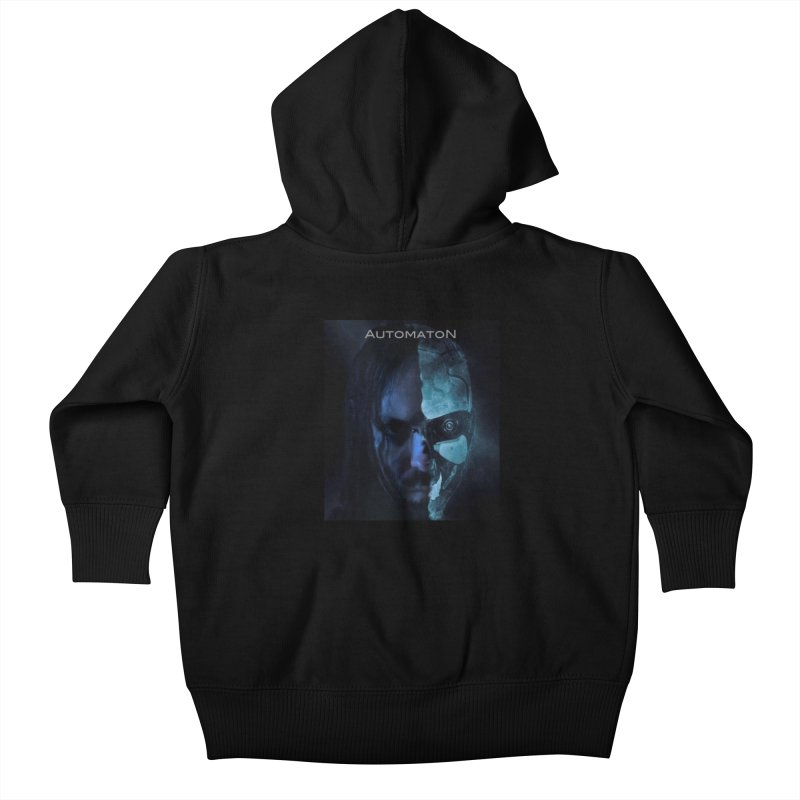 AutomatoN E.V.Olution human machine Kids Baby Zip-Up Hoody by automatonofficial's Artist Shop