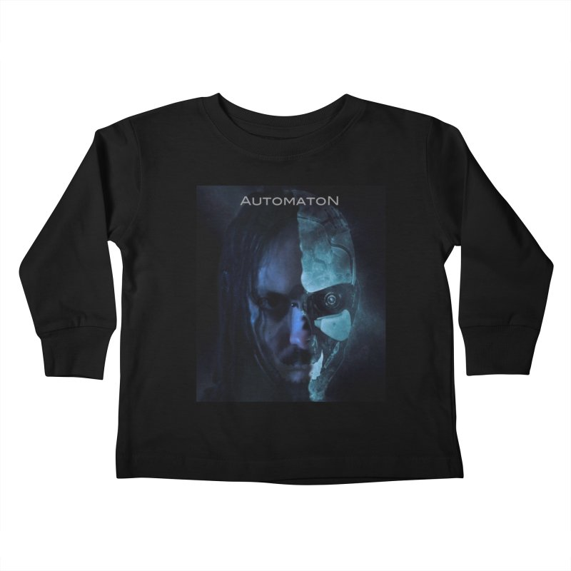 AutomatoN E.V.Olution human machine Kids Toddler Longsleeve T-Shirt by automatonofficial's Artist Shop