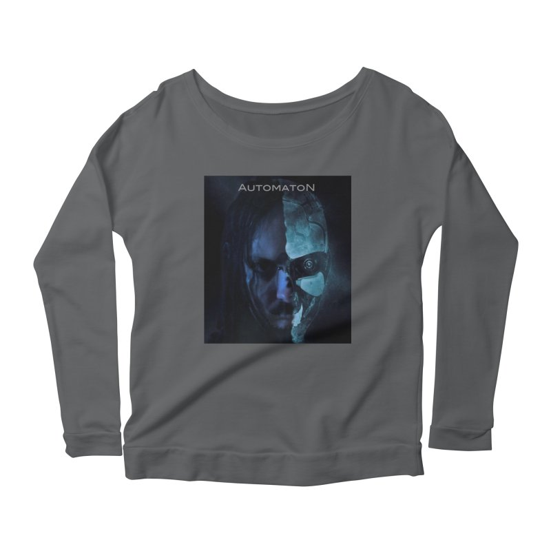 AutomatoN E.V.Olution human machine Women's Scoop Neck Longsleeve T-Shirt by automatonofficial's Artist Shop