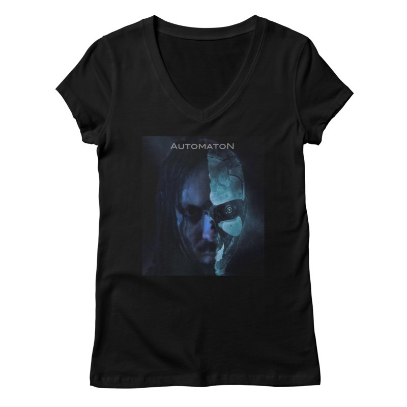 AutomatoN E.V.Olution human machine Women's Regular V-Neck by automatonofficial's Artist Shop