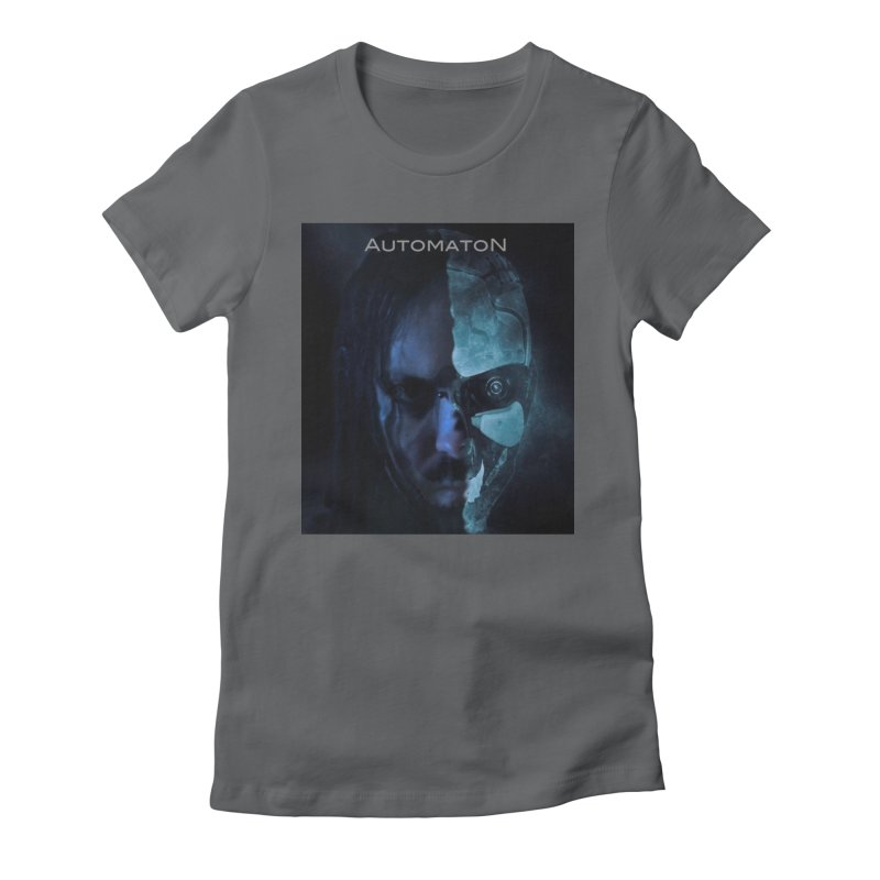 AutomatoN E.V.Olution human machine Women's Fitted T-Shirt by automatonofficial's Artist Shop