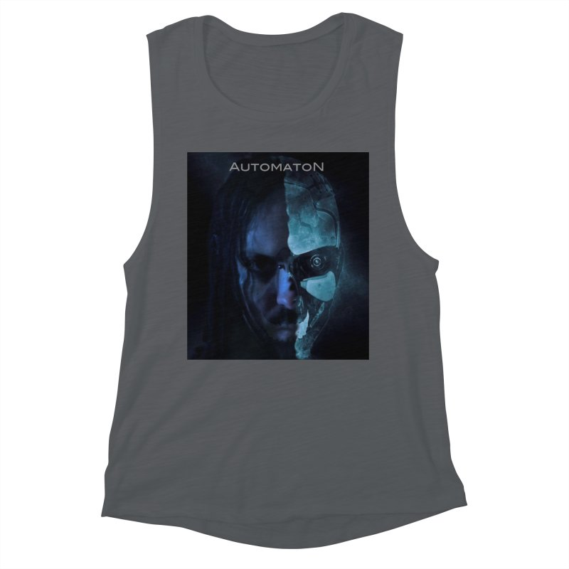 AutomatoN E.V.Olution human machine Women's Muscle Tank by automatonofficial's Artist Shop