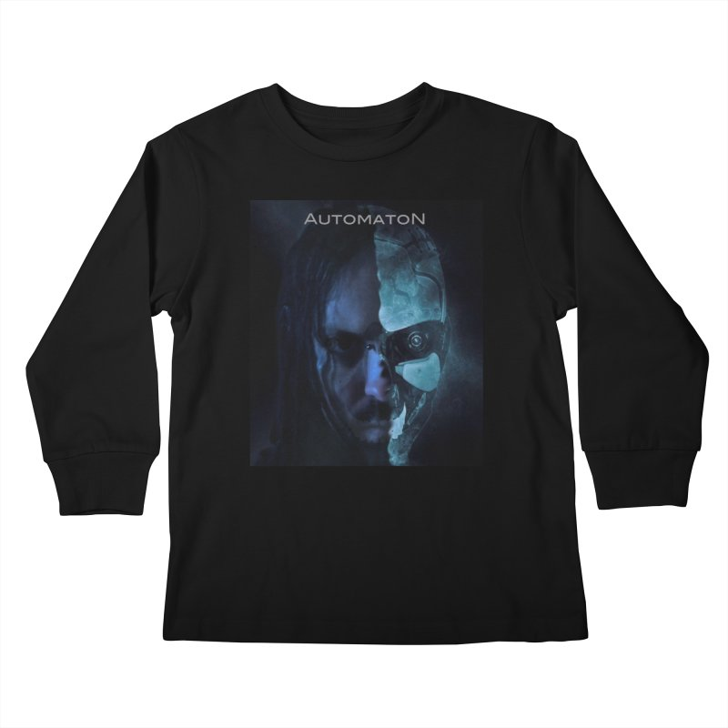 AutomatoN E.V.Olution human machine Kids Longsleeve T-Shirt by automatonofficial's Artist Shop