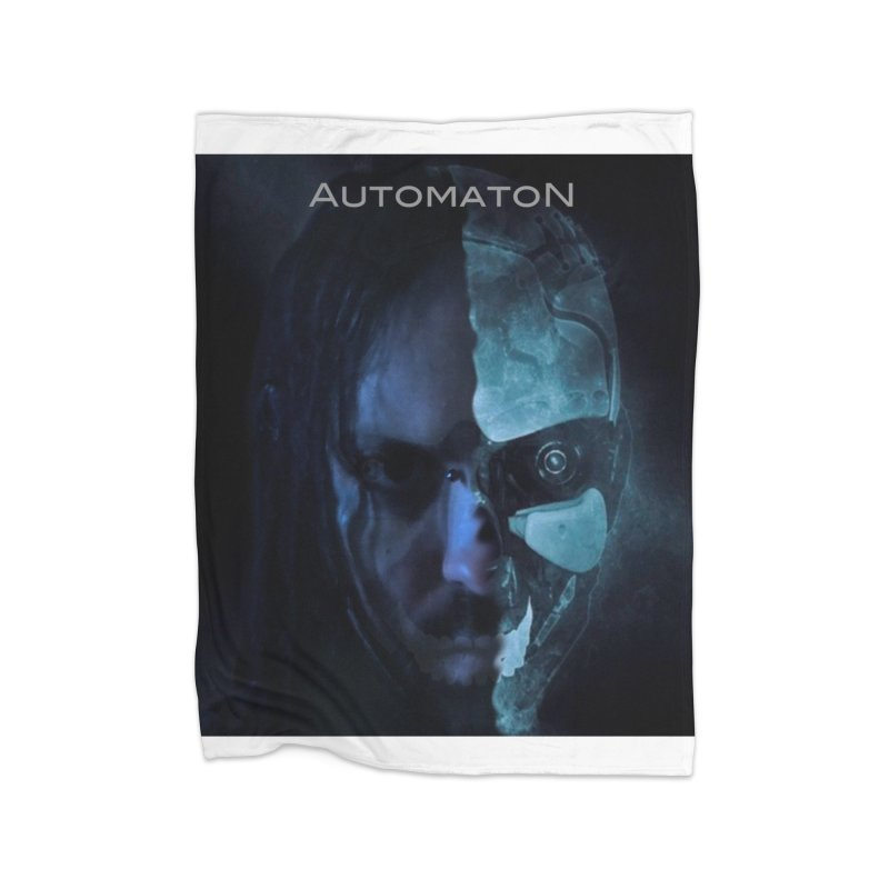 AutomatoN E.V.Olution human machine Home Fleece Blanket Blanket by automatonofficial's Artist Shop