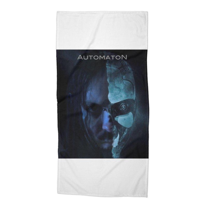 AutomatoN E.V.Olution human machine Accessories Beach Towel by automatonofficial's Artist Shop