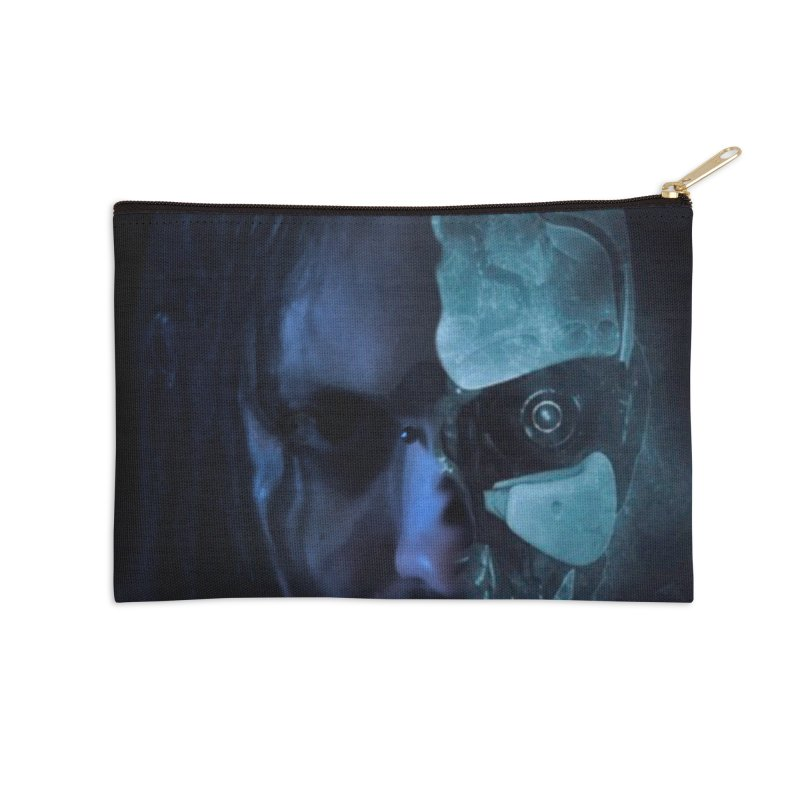 AutomatoN E.V.Olution human machine Accessories Zip Pouch by automatonofficial's Artist Shop