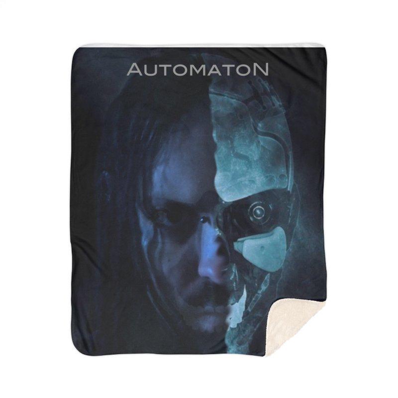 AutomatoN E.V.Olution human machine Home Sherpa Blanket Blanket by automatonofficial's Artist Shop
