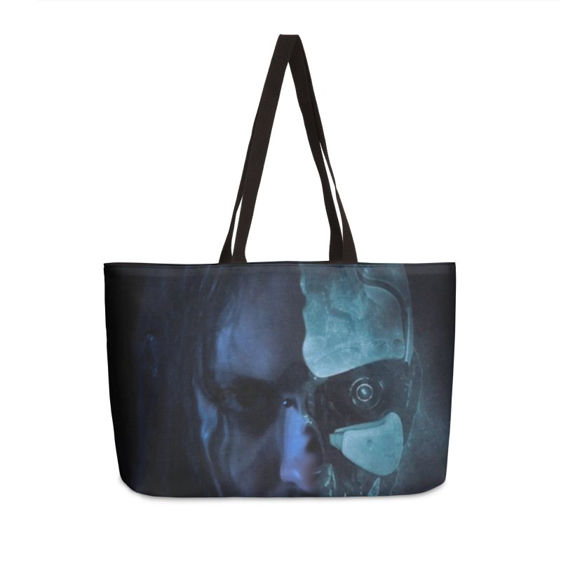 AutomatoN E.V.Olution human machine Accessories Weekender Bag Bag by automatonofficial's Artist Shop
